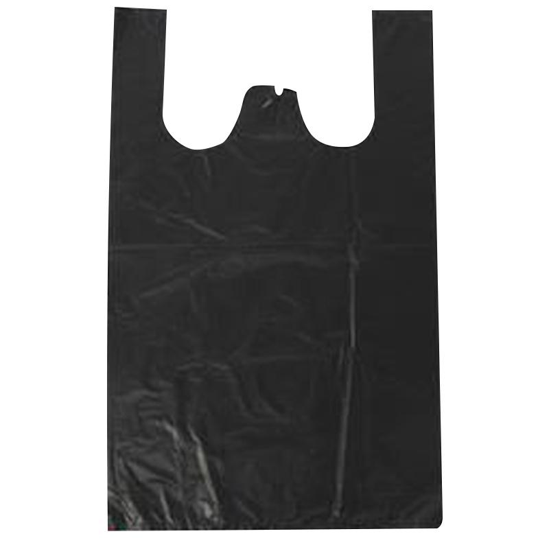 黑色垃圾袋背心